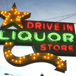"""Neon Sign Drive In Liquor"" by cr8tivguy"
