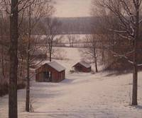 Owen County Barns in Winter