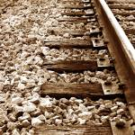 """Rocky Railroad Tracks"" by am13er"