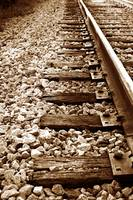 Rocky Railroad Tracks