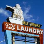 """Neon Sign Laundry Sign"" by cr8tivguy"