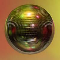 Mirror ball, spin, orange