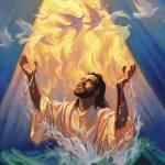 """Baptism of Jesus"" by jeffhaynieart"