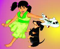 Dog Plane and the Girl