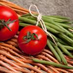 """Tomatoes And Green Beans"" by shopartgallery"