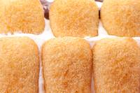 Closeup Of Pavesini Biscuits In Cake