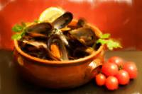 Bowl With Mussels Soup - Fine Feathering Oils