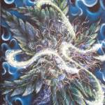 """Dave De Ryke Marijuana fantasy artwork"" by DaveDeRykeArtwork"