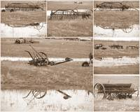 farming equipment from the past