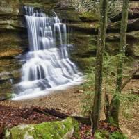 Hidden Falls by Jim Crotty by Jim Crotty