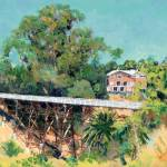 """The Quince Street Bridge San Diego"" by BeaconArtWorksCorporation"