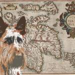 """Territory Map Scottie"" by DogHistory"