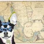 """Territory Map Chihuahua"" by DogHistory"