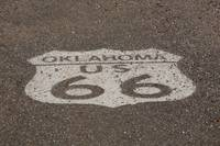 Route 66 - Oklahoma Shield