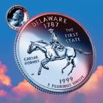 """Delaware_sky coin_01"" by Quarterama"