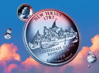 New Jersey State Quarter - Sky Coin 03