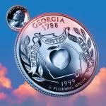 """""""Georgia_sky coin_04"""" by Quarterama"""