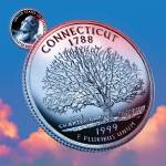 """Connecticut_sky coin_05"" by Quarterama"