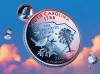 South Carolina State Quarter - Sky Coin 08