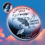 """Louisiana_sky coin_18"" by Quarterama"