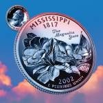 """Mississippi_sky coin_20"" by Quarterama"