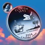 """Florida_sky coin_27"" by Quarterama"