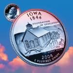 """Iowa_sky coin_29"" by Quarterama"