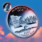 """Minnesota_sky coin_32"" by Quarterama"