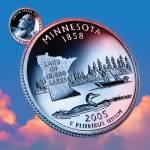"""""""Minnesota_sky coin_32"""" by Quarterama"""
