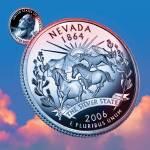 """""""Nevada_sky coin_36"""" by Quarterama"""