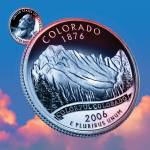 """Colorado_sky coin_38"" by Quarterama"