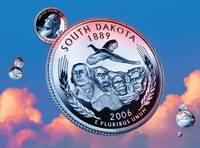 South Dakota State Quarter - Sky Coin 40