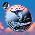 """Montana_sky coin_41"" by Quarterama"
