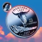 """""""Montana_sky coin_41"""" by Quarterama"""