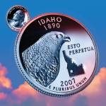 """Idaho_sky coin_43"" by Quarterama"