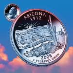 """Arizona_sky coin_48"" by Quarterama"