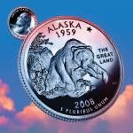 """""""Alaska_sky coin_49"""" by Quarterama"""