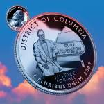 """District of Columbia_sky coin_51"" by Quarterama"