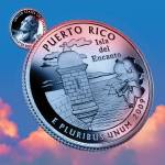 """Puerto Rico_sky coin_52"" by Quarterama"