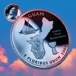 """Guam_sky coin_53"" by Quarterama"