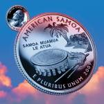"""American Samoa_sky coin_54"" by Quarterama"