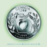 """Georgia_portrait coin_04"" by Quarterama"