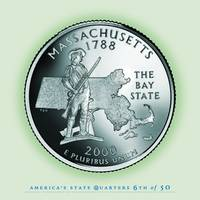 Massachusetts State Quarter - Portrait Coin 06