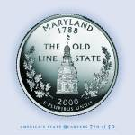 """Maryland_portrait coin_07"" by Quarterama"