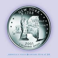 New York State Quarter - Portrait Coin 11
