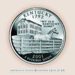 """Kentucky_portrait coin_15"" by Quarterama"