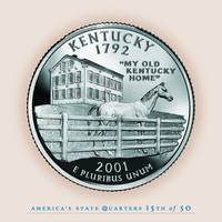 Kentucky State Quarter - Portrait Coin 15