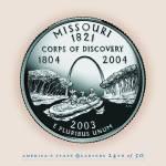 """Missouri_portrait coin_24"" by Quarterama"