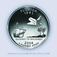 Florida State Quarter - Portrait Coin 27