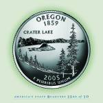 """Oregon_portrait coin_33"" by Quarterama"